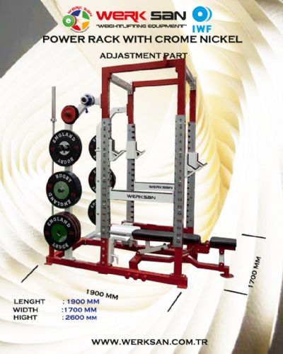 POWER  RACK WITH CR-Nİ ADJUSTMENT PART