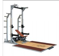 HALF RACK+PLATFORM+ADJUSTABLE BENCH