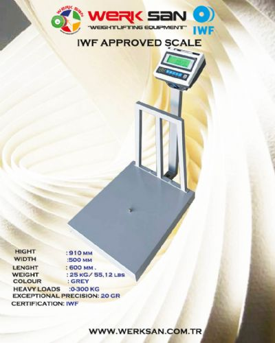WERKSAN APPROVED SCALE