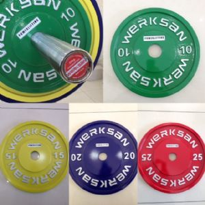WERKSAN COLORED POWERLIFTING SET 435 KG