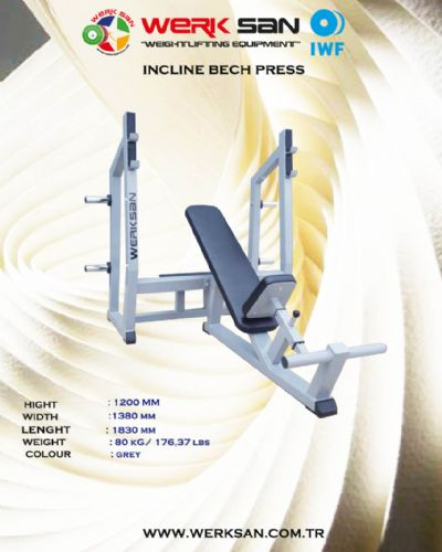 WERKSAN INCLINE BENCH